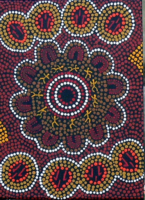 Kangaroo Corroboree By John Weeronga Bartoo At Aboriginal